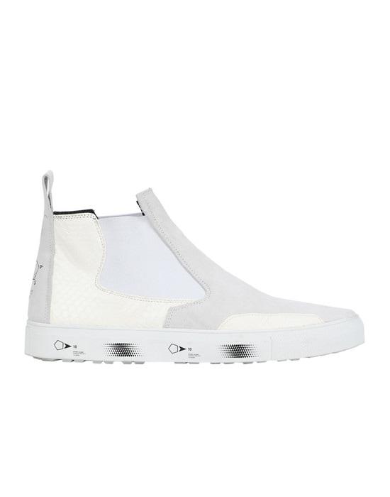 STONE ISLAND SHADOW PROJECT Hochgeschlossener Sneaker S0522 SLIP-ON MID (SUEDE, DEER SKIN, REPTILE)