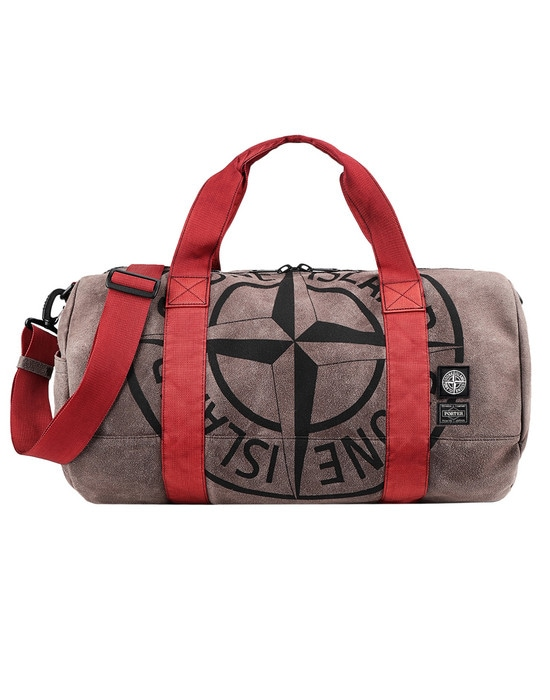 STONE ISLAND Luggage 913P1 STONE ISLAND/PORTER®<br>STONE ISLAND MAN MADE SUEDE_GARMENT DYED