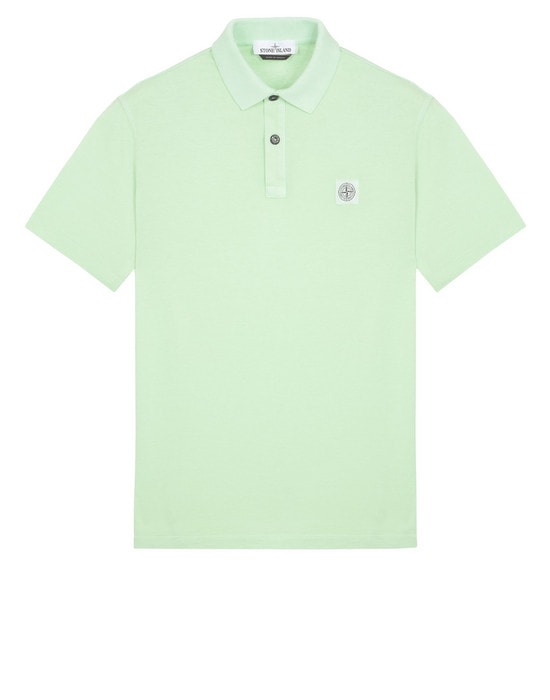 STONE ISLAND Polo shirt 22257 'FISSATO' DYE TREATMENT