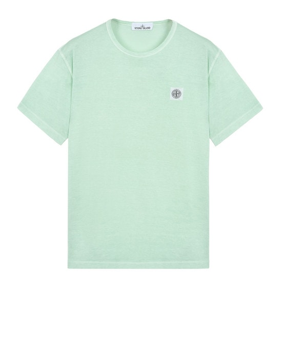 STONE ISLAND Short sleeve t-shirt 22357 'FISSATO' DYE TREATMENT