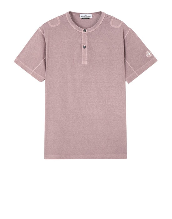 STONE ISLAND Short sleeve t-shirt 20842 'FISSATO' DYE TREATMENT