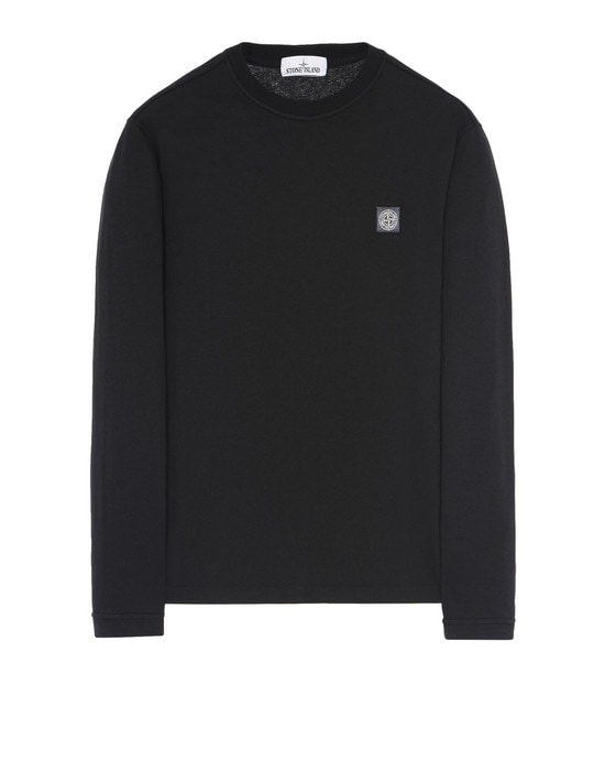 STONE ISLAND Long sleeve t-shirt 21442 'FISSATO' DYE TREATMENT