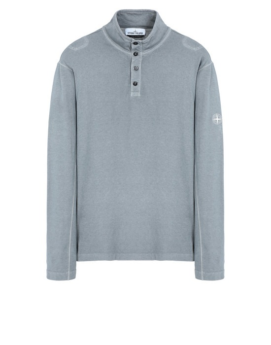 STONE ISLAND Long sleeve t-shirt 20942 'FISSATO' DYE TREATMENT