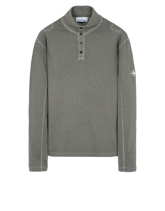 STONE ISLAND Long sleeve t-shirt 20942 'FISSATO' DYE TREATMENT