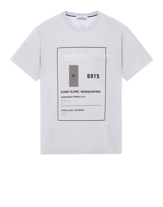 STONE ISLAND Short sleeve t-shirt 23783 INDUSTRIAL 3