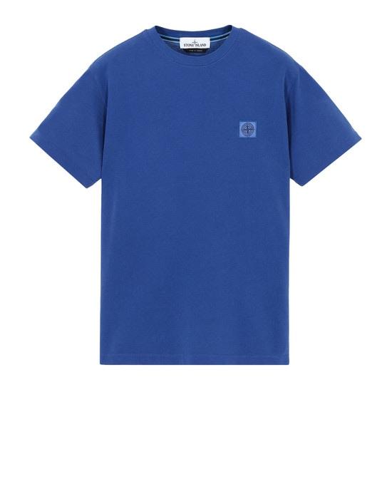 STONE ISLAND Short sleeve t-shirt 22267 TINTO PIGMENTO