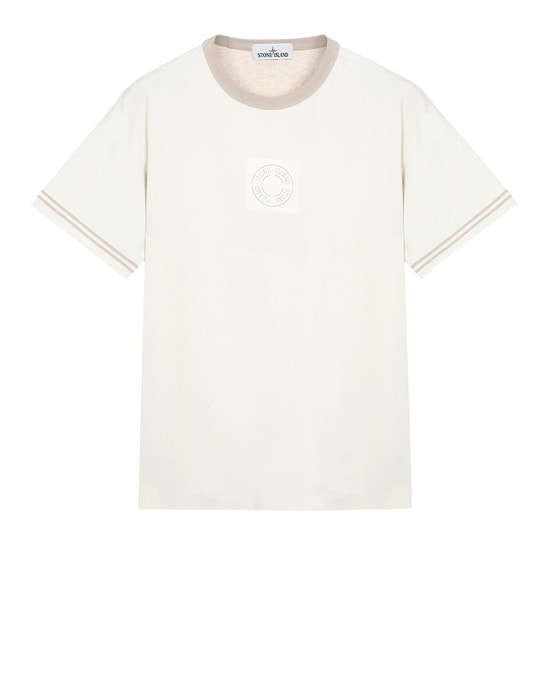 STONE ISLAND Short sleeve t-shirt 23335 JERSEY PLACCATO