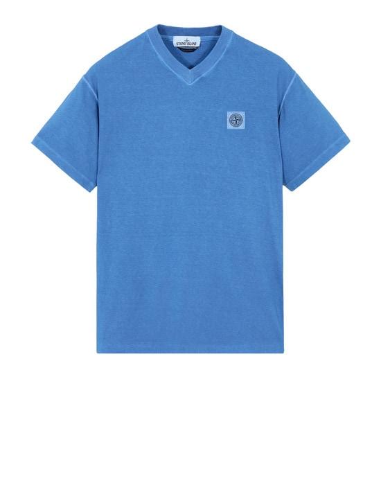 STONE ISLAND Short sleeve t-shirt 20257 TINTO 'FISSATO'