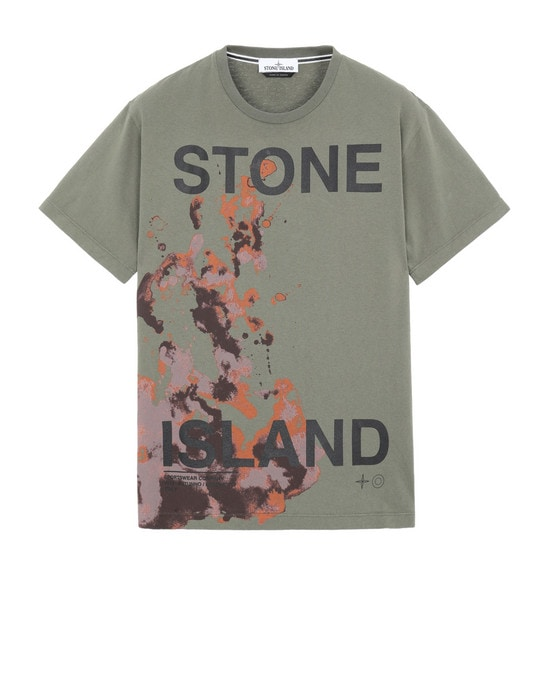 STONE ISLAND Short sleeve t-shirt 2NS86 'GRAPHIC SEVEN'