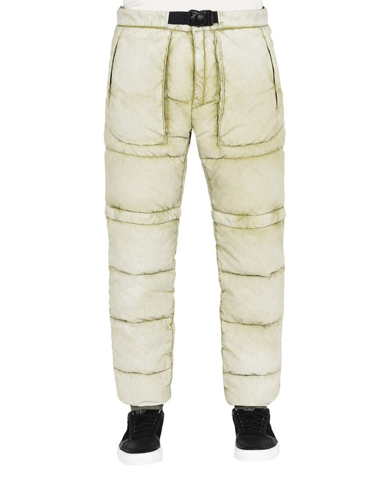 STONE ISLAND Pants 31353 TELA NYLON DOWN WITH DUST COLOUR FROST FINISH