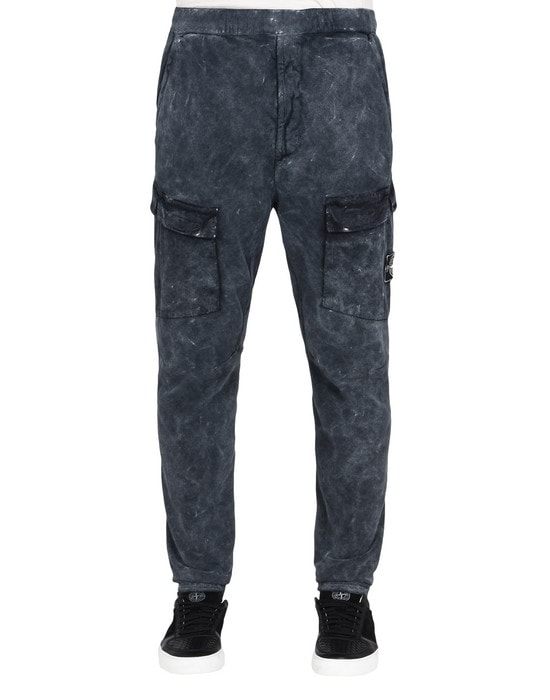 STONE ISLAND Pants 32119 WHITE FROST