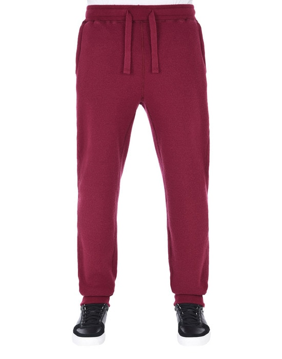 STONE ISLAND Fleece Pants 65759