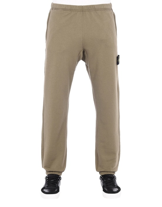 STONE ISLAND Fleece Pants 60543
