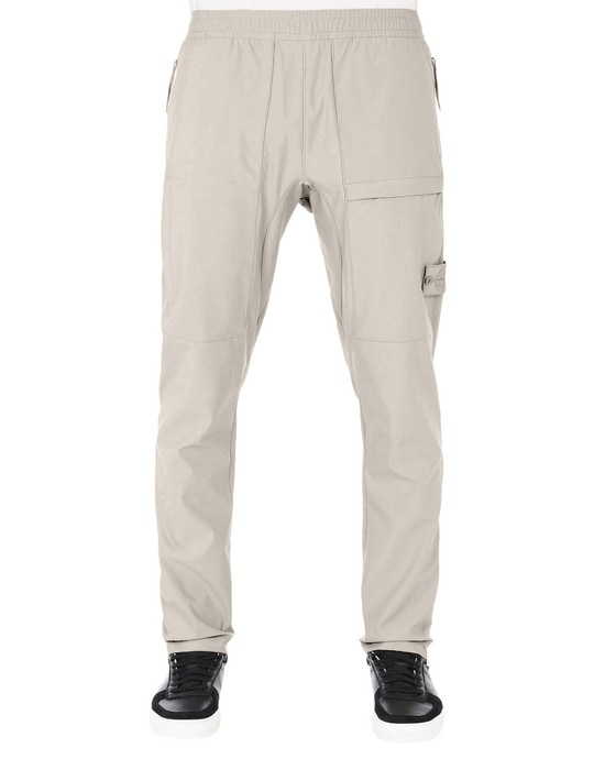 STONE ISLAND Trousers 309F2 GHOST PIECE_NYLON COTTON 3L