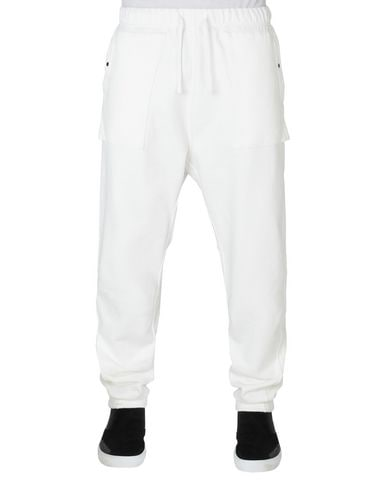 60607 UTILITY SWEATPANTS WITH ARTICULATION TUNNEL (DIAGONAL WEAVE FELPA) GARMENT DYED