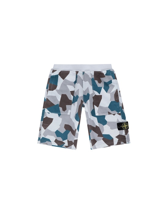 STONE ISLAND JUNIOR Bermuda shorts 62306 REVERSIBLE