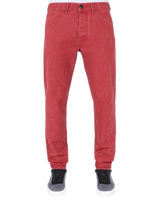 STONE ISLAND Trousers J01J1 PANAMA PLACCATO SL