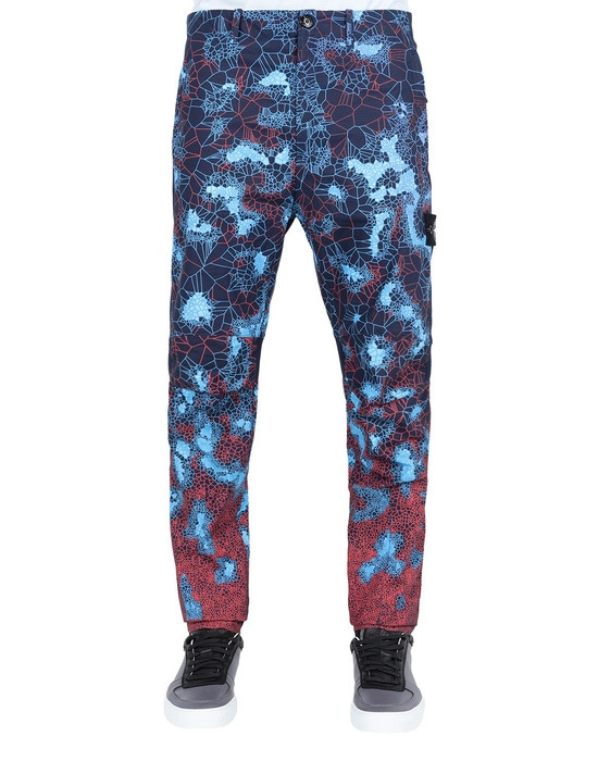 STONE ISLAND Pants 320E1 PRINTED HEAT REACTIVE_THERMOSENSITIVE FABRIC