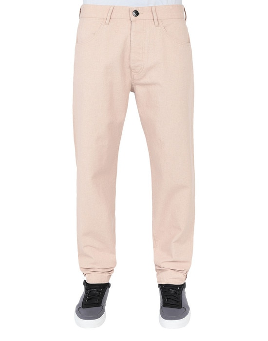 STONE ISLAND Trousers J02J1 PANAMA PLACCATO RE-T