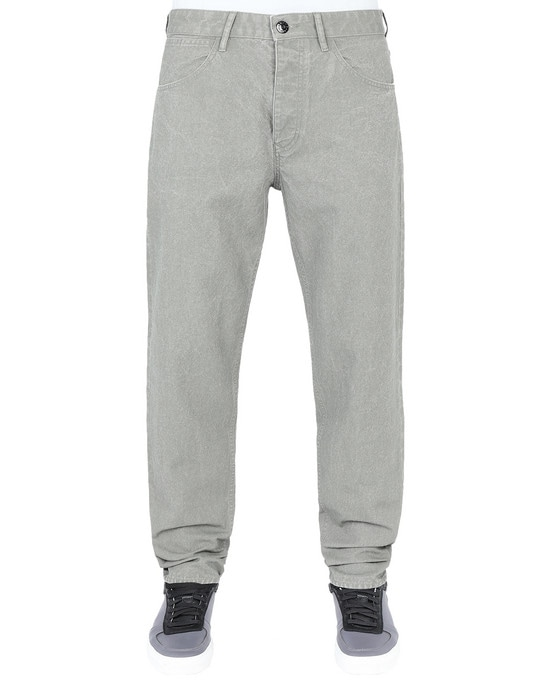 STONE ISLAND Pants J02J1 PANAMA PLACCATO RE-T