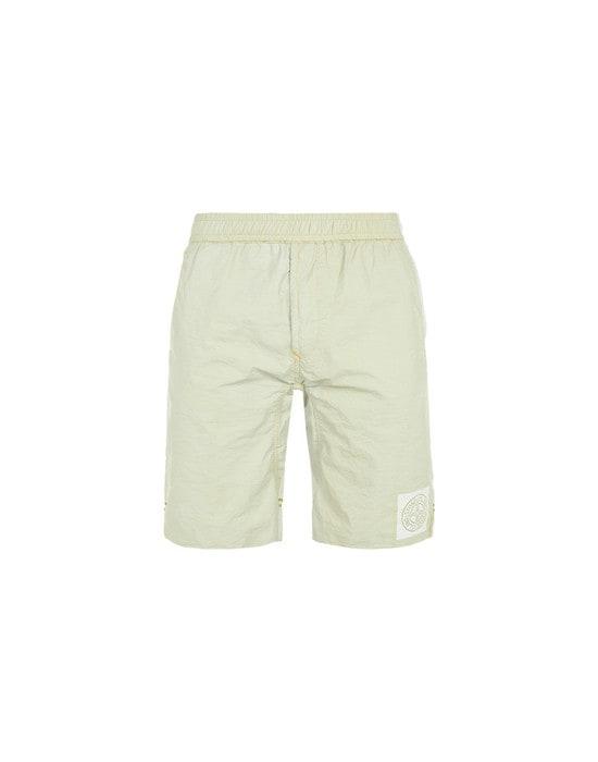 STONE ISLAND Bermuda shorts L1337 NYLON METAL PLACCATO