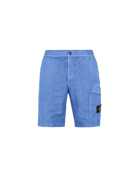 STONE ISLAND Bermuda shorts L0601 TINTO 'FISSATO'