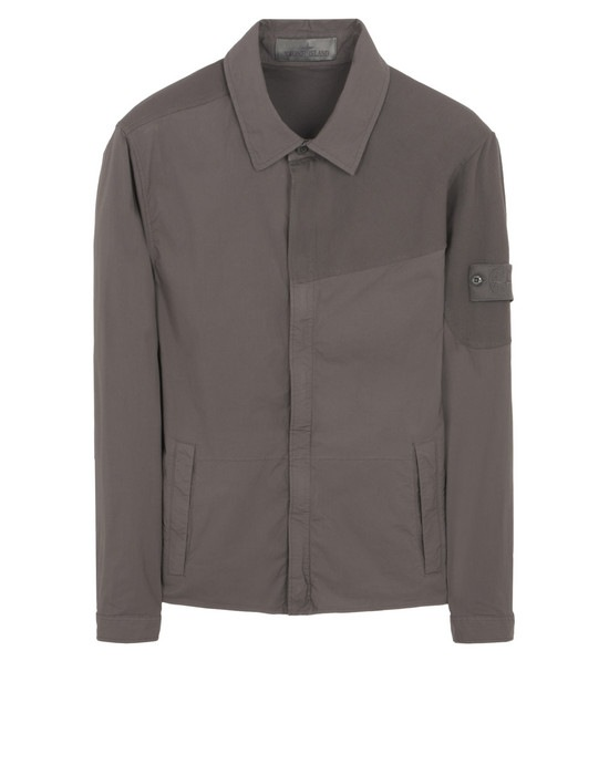 STONE ISLAND OVER SHIRT 116F3 GHOST PIECE