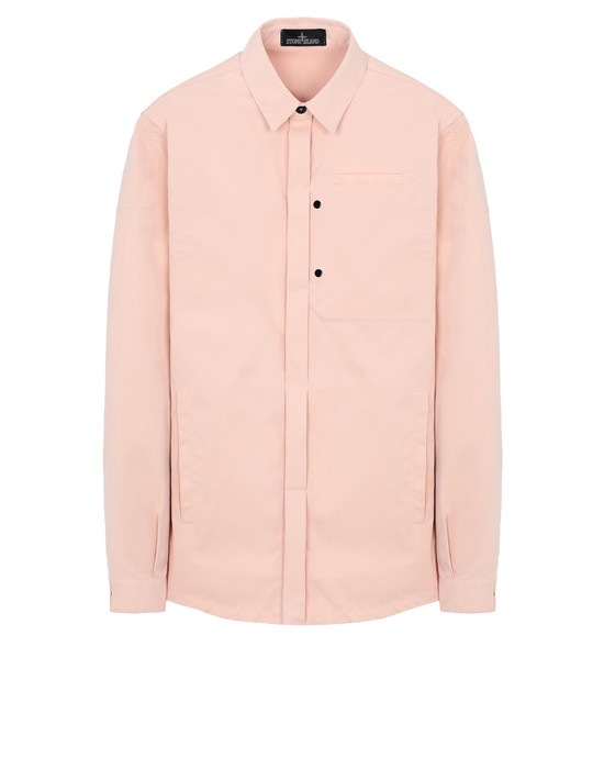STONE ISLAND SHADOW PROJECT Long sleeve shirt 10305 OVER SHIRT  WITH DROP POCKET (POLY-OPTIMA) SINGLE LAYER FABRIC - HIGH PRESSURE GARMENT DYEING