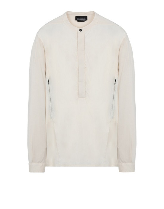 STONE ISLAND SHADOW PROJECT Long sleeve shirt 10208 COMPOUND SHIRT (CONY/JERSEY MAKO) GARMENT DYED
