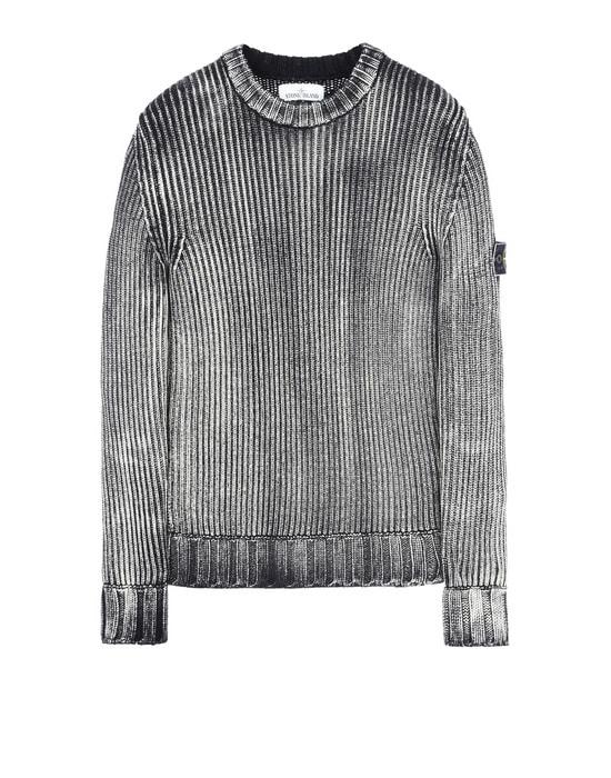 STONE ISLAND Crewneck sweater 513D6 COLOUR CORROSION TREATMENT