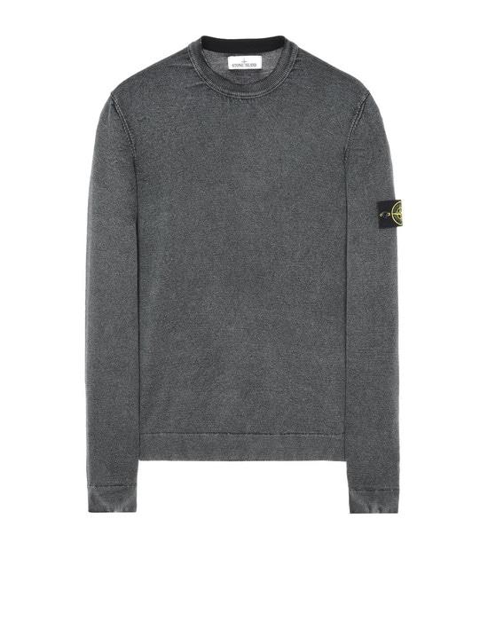 STONE ISLAND Crewneck sweater 561D4 WHITE FROST
