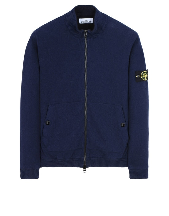STONE ISLAND Cárdigan 561D8 KNIT WITH INNER PRIMALOFT® LAYER