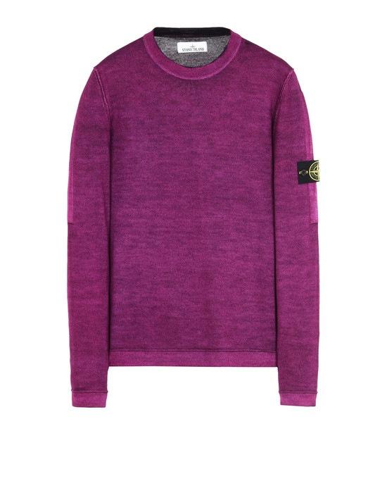 STONE ISLAND Sweater 571A8 FAST DYE + AIR BRUSH