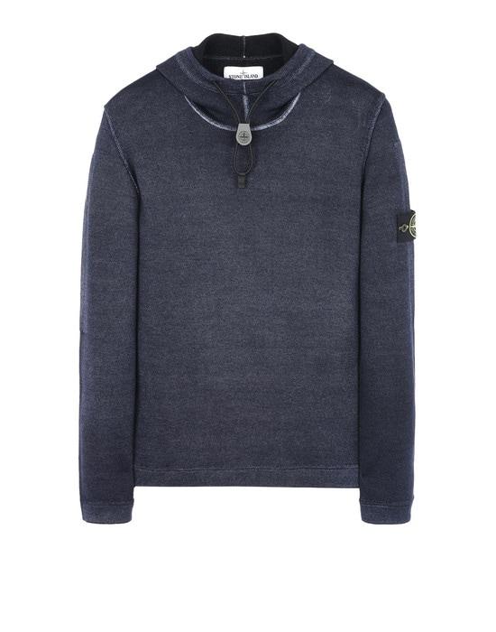 STONE ISLAND Sweater 572A8 FAST DYE + AIR BRUSH