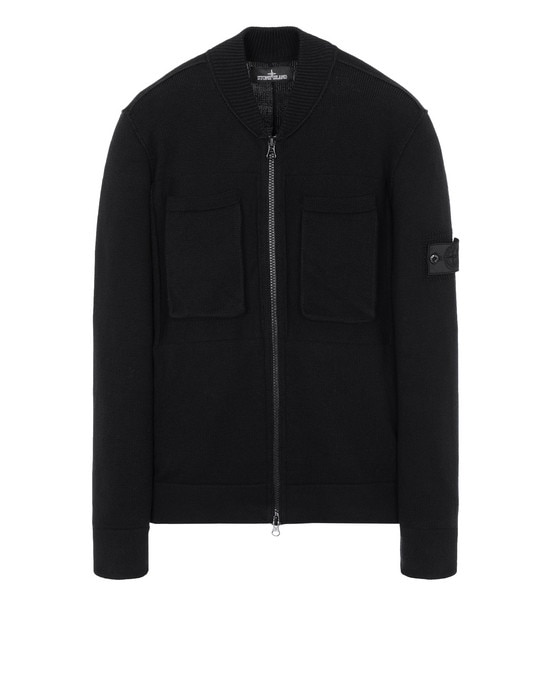 STONE ISLAND SHADOW PROJECT Cardigan 506A1 ENGINEERED BOMBER KNIT (WINTER COTTON)