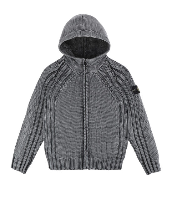 STONE ISLAND JUNIOR Sweater 523D4 FROST FINISH