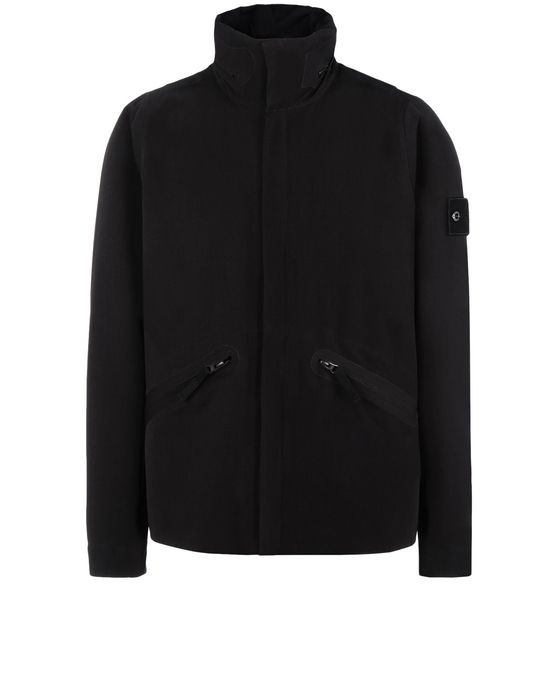 STONE ISLAND Jacke 44137 WATER REPELLENT WOOL - GHOST PIECE