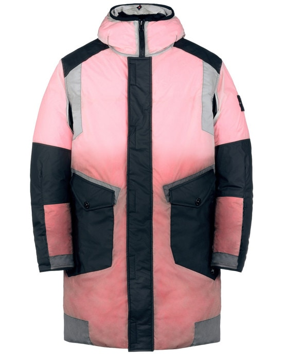 STONE ISLAND Manteau court 70999 ICE JACKET RESIN-T SHELL DOWN