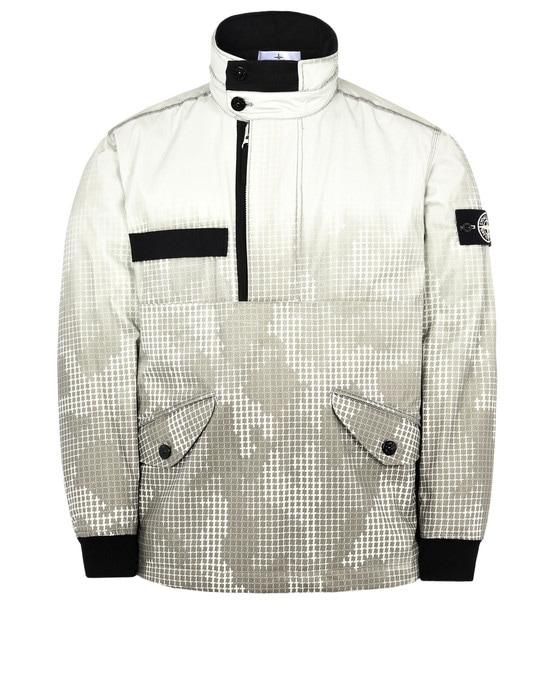 STONE ISLAND Jacket 443E4 ICE JACKET SI CHECK GRID CAMO