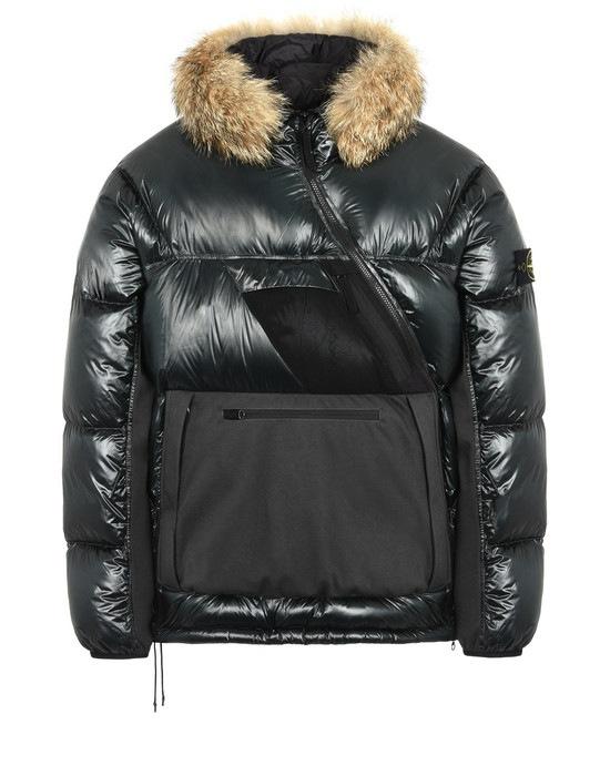 STONE ISLAND Mid-length jacket 43421 PERTEX QUANTUM Y DOWN