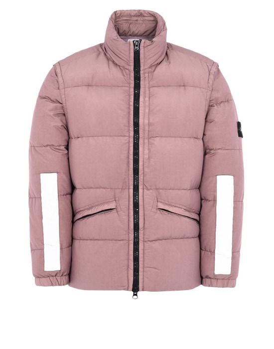 STONE ISLAND Down jacket 43750 COTTON METAL WATRO