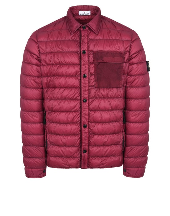 STONE ISLAND ЛЕГКАЯ КУРТКА Q0324 GARMENT DYED MICRO YARN DOWN_PACKABLE