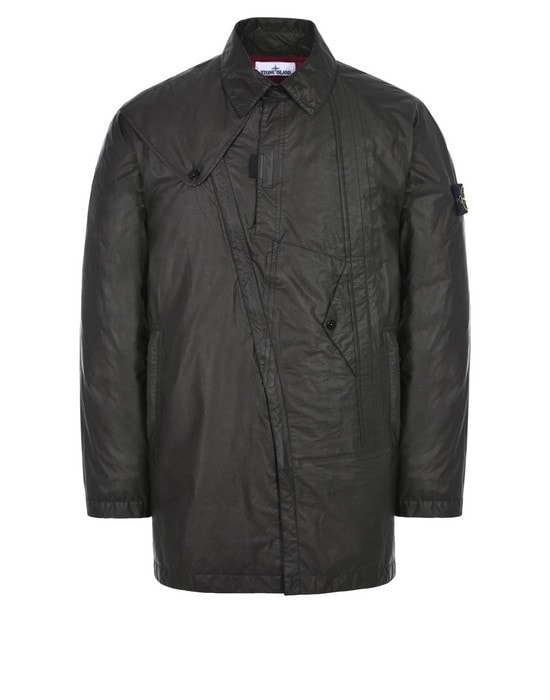 STONE ISLAND LONG JACKET 435Y1 PERMANENT WATER REPELLER GORE-TEX® PRODUCTS WITH SHAKEDRY™ PRODUCT TECHNOLOGY