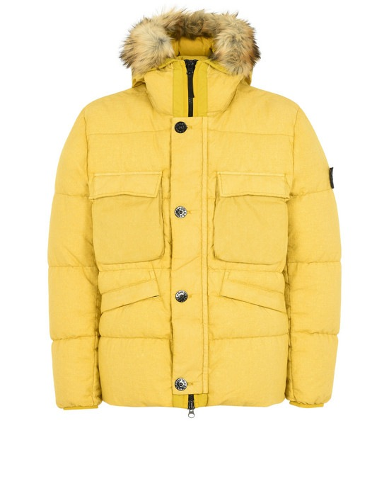 STONE ISLAND Down jacket 42833 LINO RESINATO DOWN-TC