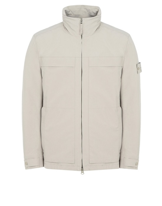STONE ISLAND LIGHTWEIGHT JACKET 420F1 GHOST PIECE_TANK SHIELD FEATURING STRETCH MULTI LAYER FUSION TECHNOLOGY