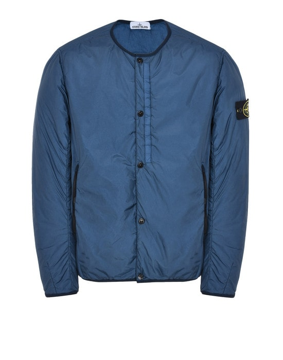 STONE ISLAND LIGHTWEIGHT JACKET Q0423 GARMENT DYED CRINKLE REPS NY