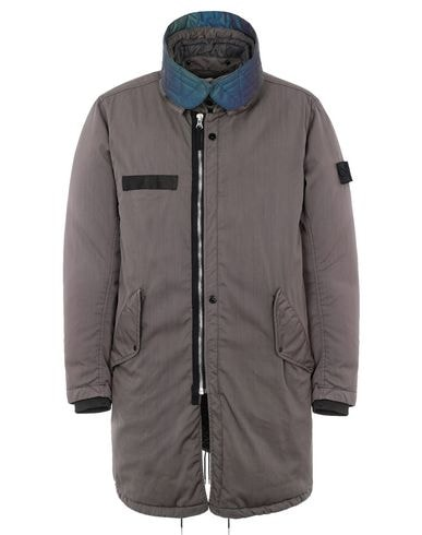 70501 DOWN FISHTAIL PARKA WITH DROP POCKET (D-NW) SINGLE LAYER FABRIC - GARMENT DYED WITH ANTI-DROP AGENT