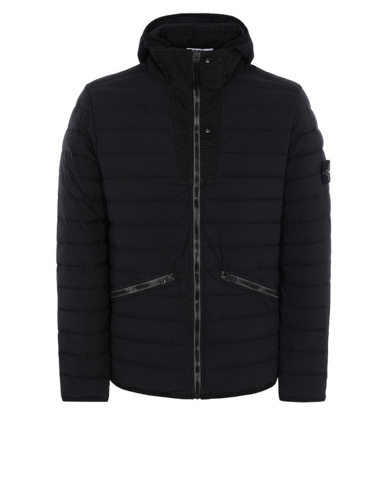 STONE ISLAND Jacket 43125 LOOM WOVEN DOWN CHAMBERS STRETCH NYLON-TC