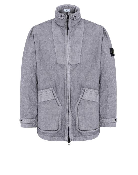 STONE ISLAND Mid-length jacket 44233 LINO RESINATO-TC