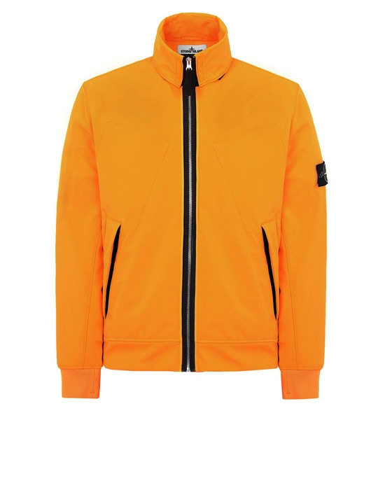 STONE ISLAND Jacket 43327 LIGHT SOFT SHELL-R FLUO